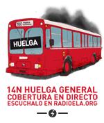 La Huelga del 14N en directo en Radio ELA